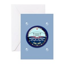 Cute Co pilot Greeting Cards (Pk of 10)