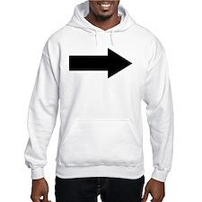 Arrow Hoodie Sweatshirt
