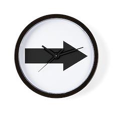 Arrow Wall Clock