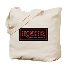 KBHR Neon Sign Tote Bag