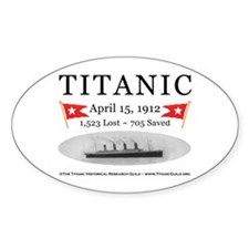 Titanic Ghost Ship (white) Decal