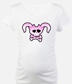 Punky Ninja Girly Skull Shirt