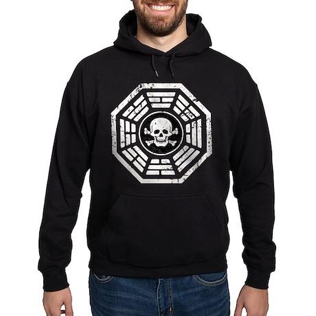 DHARMA Skull Hoodie (dark)