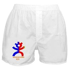 Geocaching kid Boxer Shorts