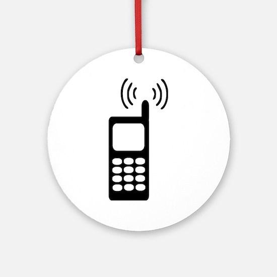 Cellphone Ornament (Round)