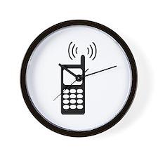 Cellphone Wall Clock