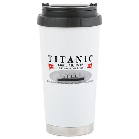 Titanic Ghost Ship (white) Stainless Steel Travel