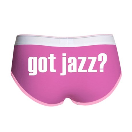 got jazz? Women's Boy Brief