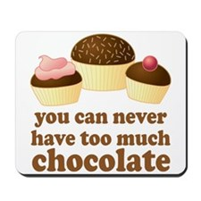 Sweet Chocolate Lover Mousepad