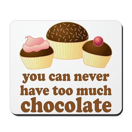 Sweet Chocolate Lover Mousepad