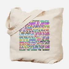 Lost Episode Titles Tote Bag