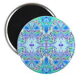 """Butterfly Mandala 2.25"""" Magnet (10 pack)"""