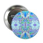 Butterfly Mandala Button