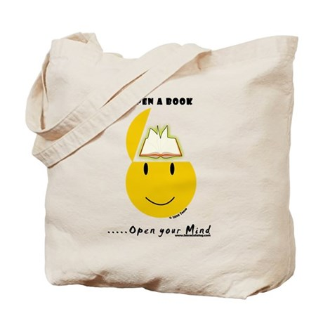 Open a Book Tote Bag