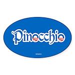 Pinocchio Sticker (Oval)