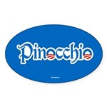 Pinocchio Sticker (Oval 50 pk)