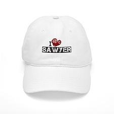 I Love Sawyer (Lost) Baseball Cap