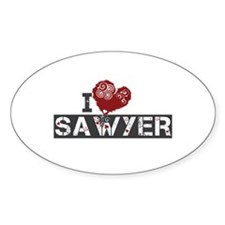 I Love Sawyer (Lost) Decal