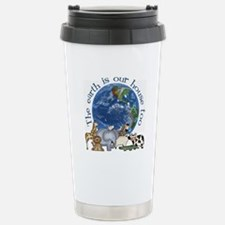 The Earth Is Our House Too Travel Mug