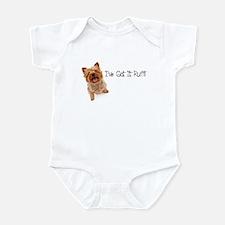 Yorkie Got It Ruff Infant Bodysuit