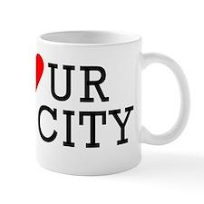 Go Heart Your Own City Mug