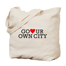 Go Heart Your Own City Tote Bag