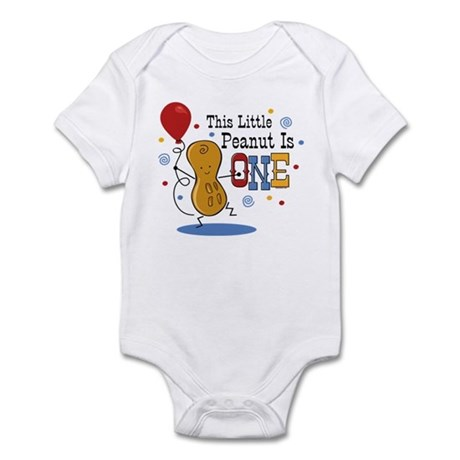 Little Peanut 1st Birthday Infant Bodysuit