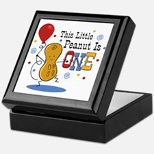 Little Peanut 1st Birthday Keepsake Box