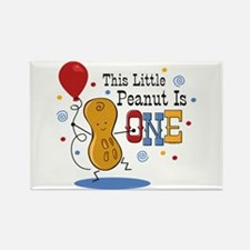 Little Peanut 1st Birthday Rectangle Magnet