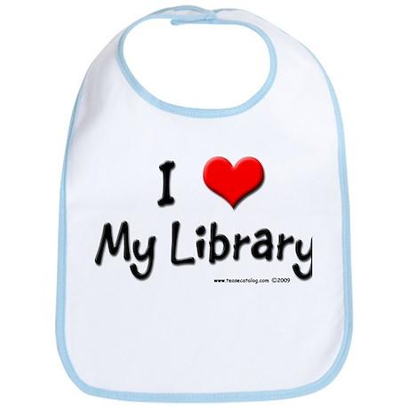 I luv my Library Bib