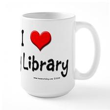 I luv my Library Mug