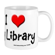 I luv my Library Small Mug