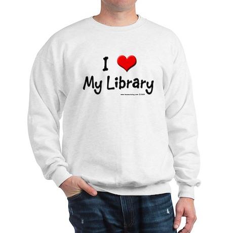I luv my Library Sweatshirt