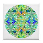 Butterfly Mandala Tile Coaster