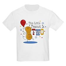 Little Peanut 2nd Birthday T-Shirt