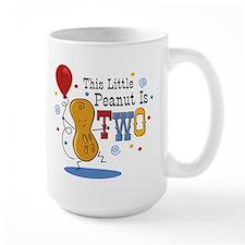 Little Peanut 2nd Birthday Mug