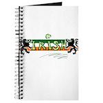 Irish Scribble Flag Journal