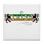 Irish Scribble Flag Tile Coaster