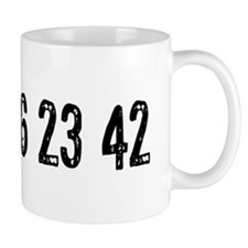 Lost Numbers Small Mug