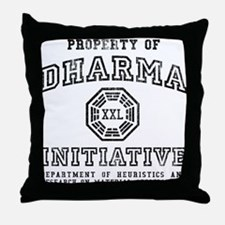 Property of DHARMA Throw Pillow