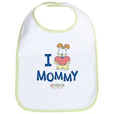 Baby ODIE, Heart Mommy, Bib