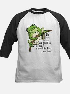Frog Kids Baseball Jersey