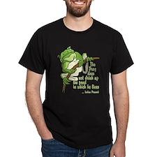Frog Black T-Shirt