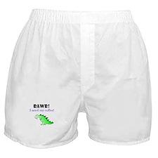 RAWR! I need my coffee! Boxer Shorts