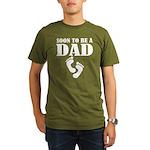 Cool Soon To Be A Dad Organic Men's T-Shirt (dark)