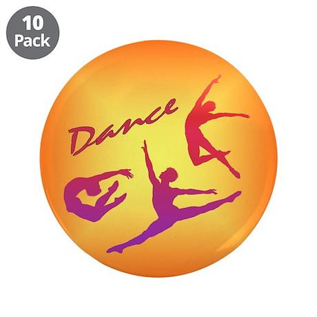 "Dance 3.5"" Button (10 pack)"