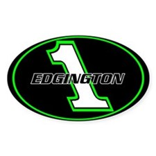 TREM/Garry Edgington Number Decal