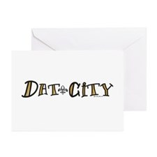 Dat City Greeting Cards (Pk of 10)