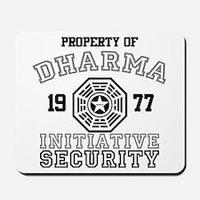 Dharma Initiative - Security Mousepad