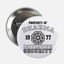 """Dharma Initiative - Security 2.25"""" Button"""